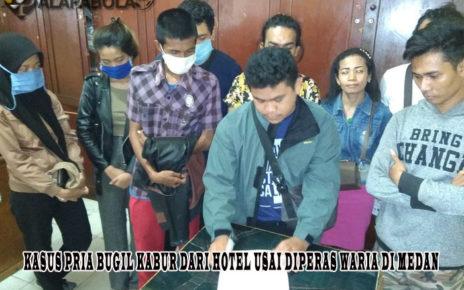 Kasus Pria Bugil Kabur dari Hotel Usai Diperas Waria di Medan