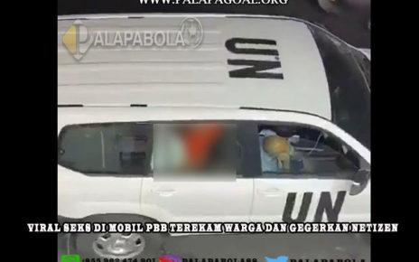 Seks di Mobil PBB Terekam Warga dan Gegerkan Netizen