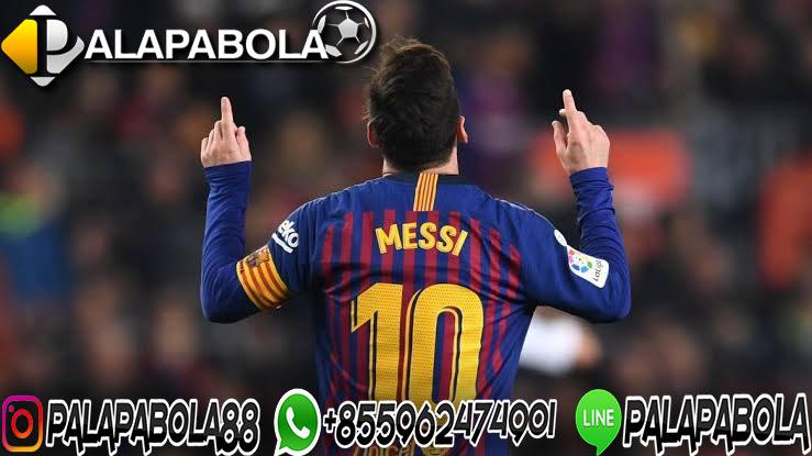 Kontrak Messi Barcelona Sisa Satu Tahun