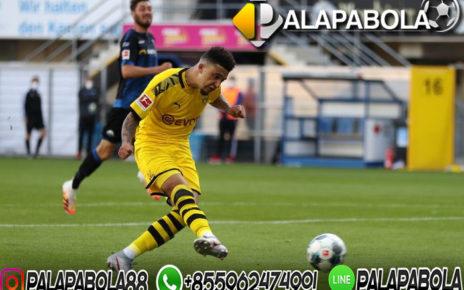 Jadon Sancho Cetak Hat-trick Untuk Dortmund