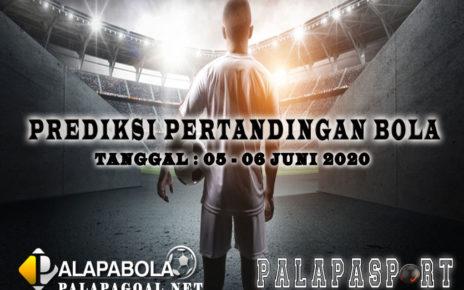 PREDIKSI PERTANDINGAN BOLA 05 – 06 JUNI 2020