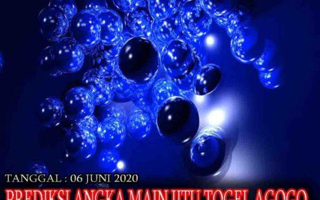 Prediksi Togel AGOGO PALAPABOLA 06 JUNI 2020