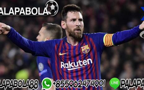 Lionel Messi Top Skor Liga Spanyol
