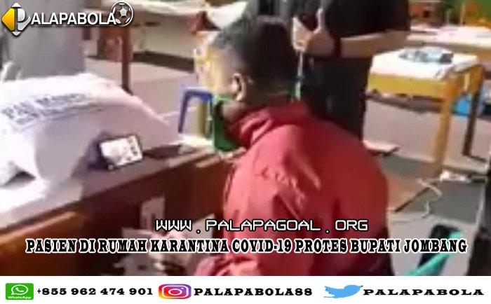 Pasien di Rumah Karantina COVID-19 Protes Bupati Jombang