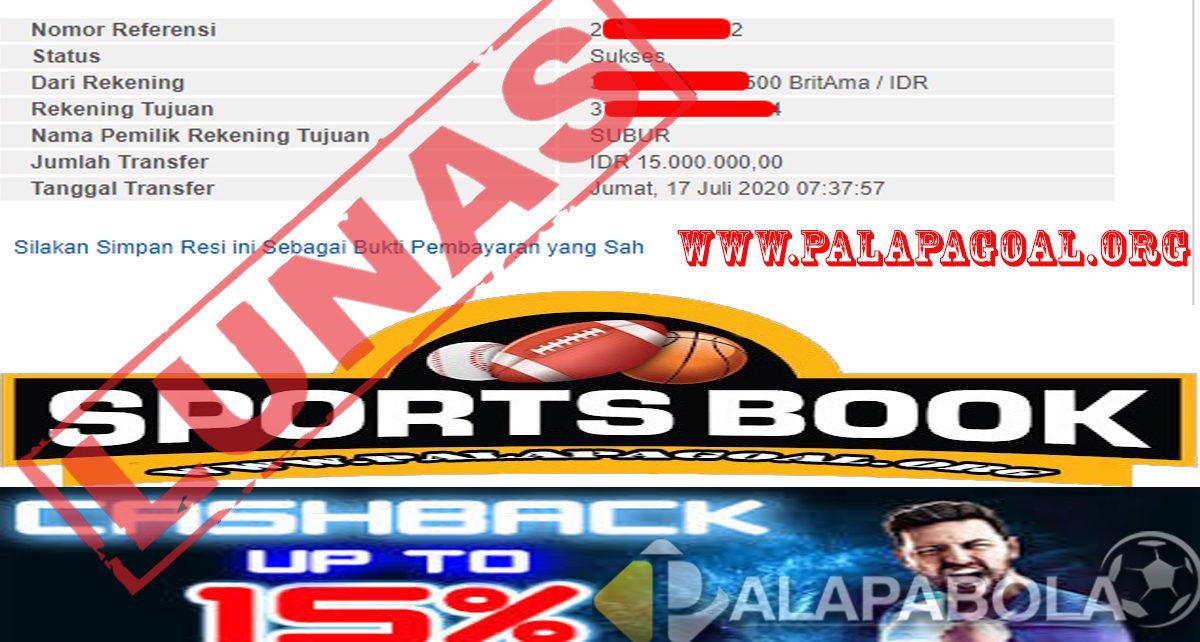 Sportbook Palapabola Kembali Menunjukan Hoky Nya