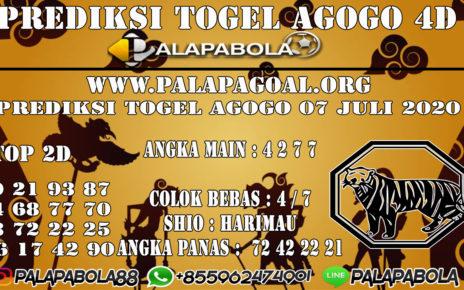 Prediksi Togel AGOGO PALAPABOLA 08 JULI 2020