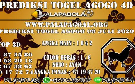 Prediksi Togel AGOGO PALAPABOLA 09 JULI 2020