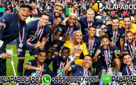 PSG Juara Pertama dan Terakhir Piala Liga Prancis