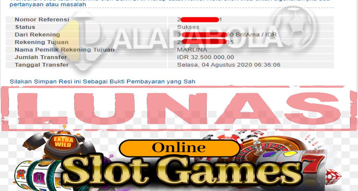 Jackpot SlotGame Palapabola Kembali Gacor Pagi ini