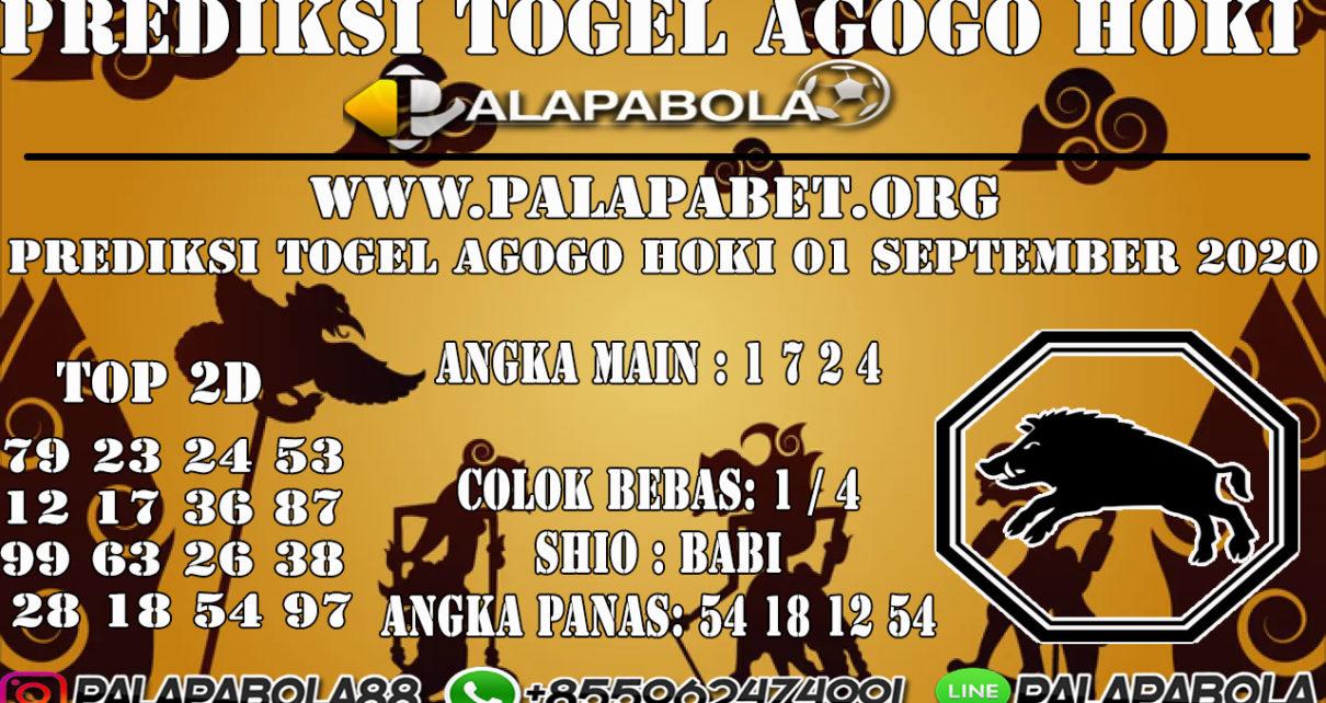 PREDIKSI TOGEL AGOGO HOKI 4D 31 AGUSTUS 2020