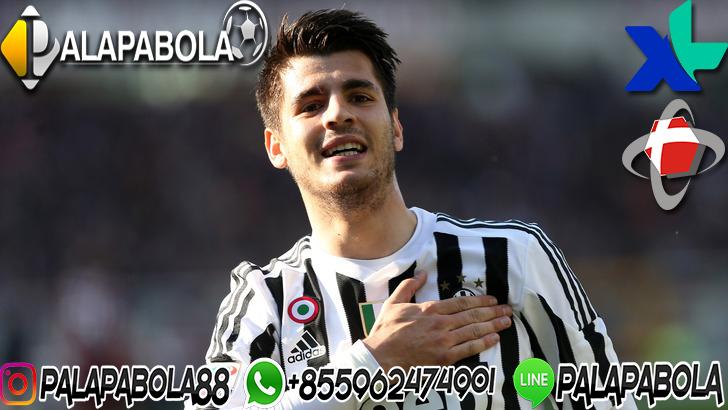 Alvaro Morata Kembali ke Juventus