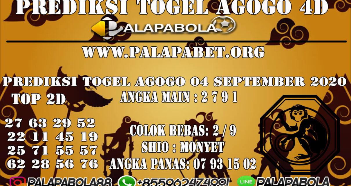 Prediksi Togel Agogo4D 23 SEPTEMBER 2020