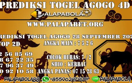 Prediksi Togel Agogo4D 28 SEPTEMBER 2020