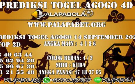Prediksi Togel Agogo4D 14 SEPTEMBER 2020