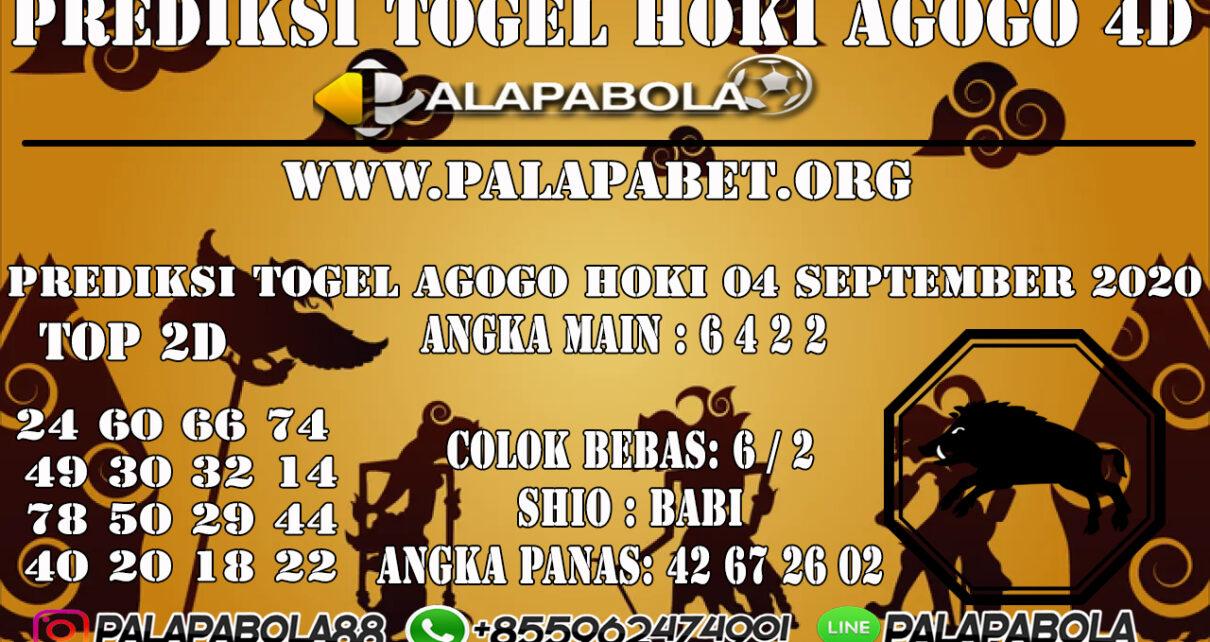 PREDIKSI TOGEL AGOGO HOKI 4D 08 SEPTEMBER 2020