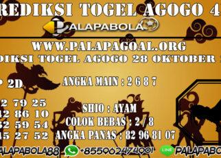 Prediksi Togel Agogo 4D 28 OCTOBER 2020