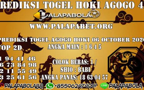PREDIKSI TOGEL AGOGO HOKI 06 OCTOBER 2020