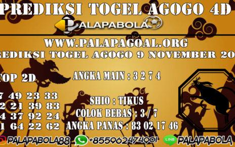 PREDIKSI TOGEL AGOGO4D 09 NOVEMBER 2020