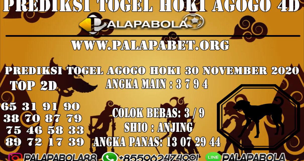 PREDIKSI TOGEL AGOGO HOKI 30 NOVEMBER 2020