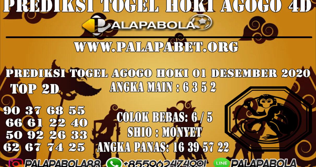 PREDIKSI TOGEL AGOGO HOKI 01 DESEMBER 2020
