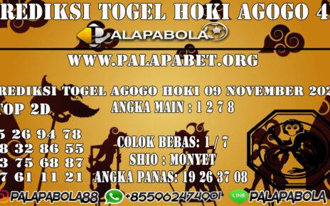 PREDIKSI TOGEL AGOGO HOKI 09 NOVEMBER 2020