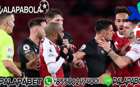 Arsenal Kalah Jangan Kambing Hitamkan Kartu Merah