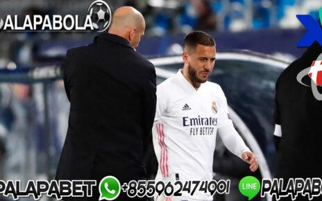 Zidane Bantah Hazard Stres di Madrid