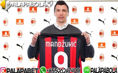 Mario Mandzukic Akan Pakai Nomor 9 di AC Milan